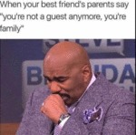When Your Best Friend's Parents Say...
