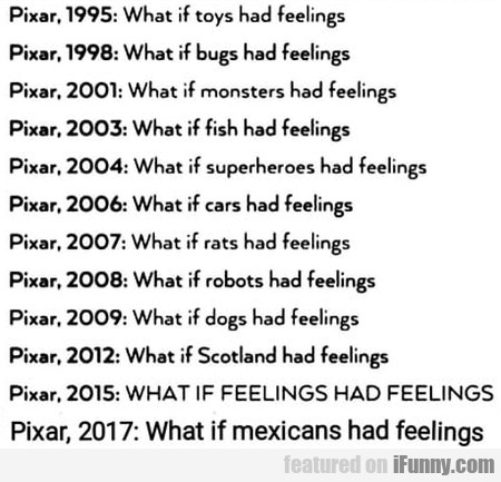 Pixar 1995 - What If Toys Had Feelings?