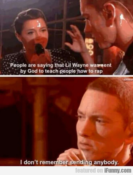People are saying that Lil Wayne was sent by God