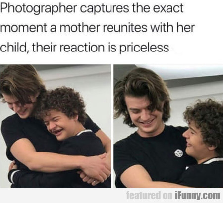 Photographer Captures The Exact Moment A Mother...
