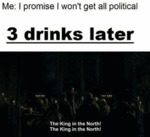 Me - I Promise I Won't Get All Political...