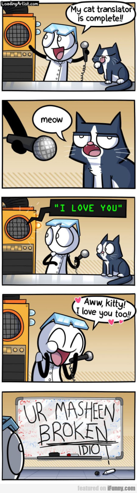 My cat translator is complete!! Meow