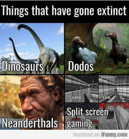Things That Have Gone Extinct - Dinosaurs...