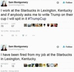 I Work At The Starbucks In Lexington Kentucky...