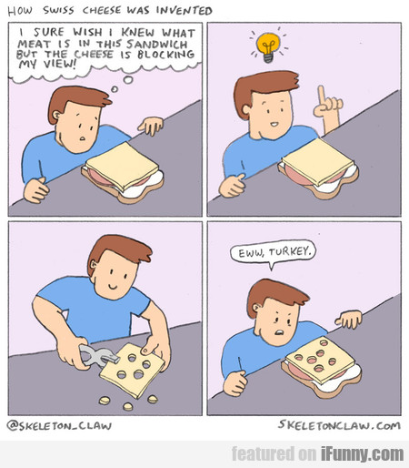 How Swiss Cheese Was Invented