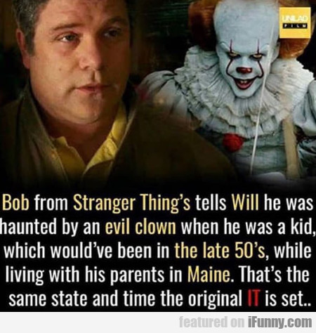 Bob From Stranger Things Tells Will He Was...