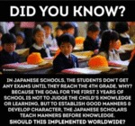 Did You Know? - In Japanese Schools, The...