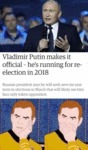 Vladimir Putin Makes It Official - He's Running...