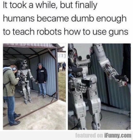 It took a while, but finally humans became dumb...