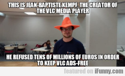 This is Jean-Baptiste Kempf, the creator of the...
