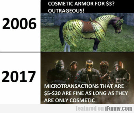 Cosmetic Armor For $3 - Outrageous!