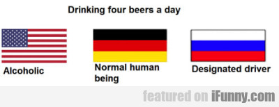 Drinking Four Beers A Day