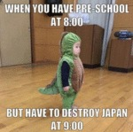 When You Have Pre-school At 8:00 But...