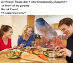 Girlfriend: Please Don't Interdimensionally...