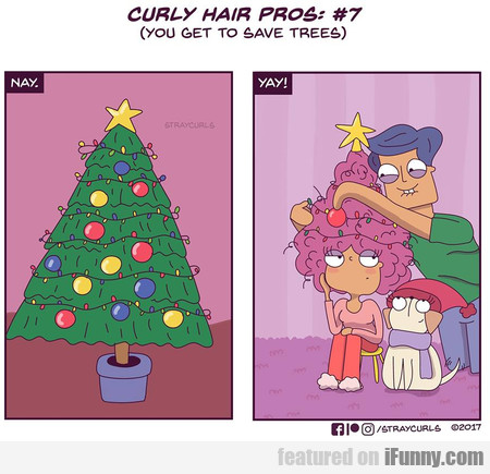 Curly Hair Pros #7 - You Get To Save Trees