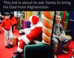 That Kid Is About To Ask Santa To Bring His...