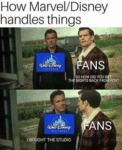 How Marvel Disney Handles Things - So How...