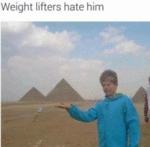 Weight Lifters Hate Him