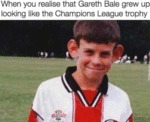 When You Realise That Gareth Bale Grew Up...