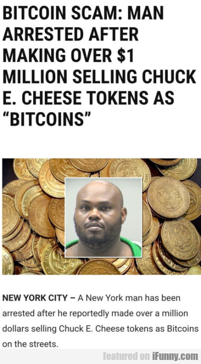 Bitcoin Scam - Man Arrested After Making Over...