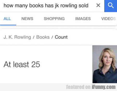 How Many Books Has Jk Rowling Sold