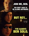 Join Me, Ben. You Don't Have To Be Alone
