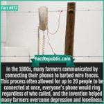 In The 1880s, Many Farmers Communicated By...