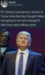 Rt: Disney's Animatronic Version Of Trump Looks...