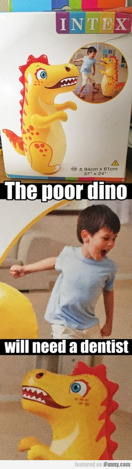 The Poor Dino Will Need A Dentist