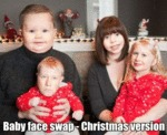 Baby Face Swap - Christmas Version