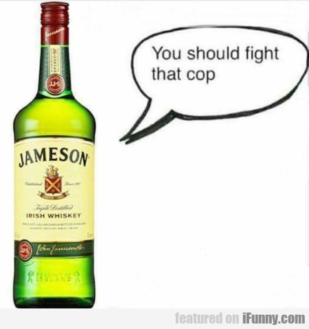 You Should Fight That Cop