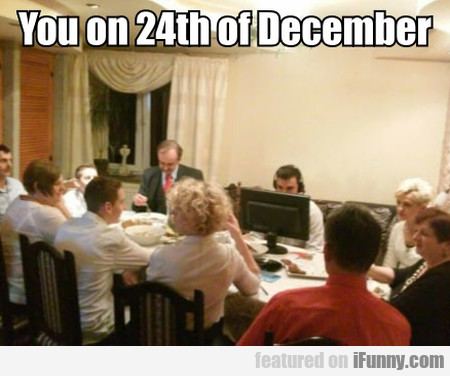 You On 24th Of December