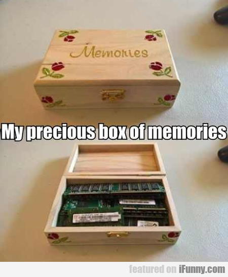 My Precious Box Of Memories