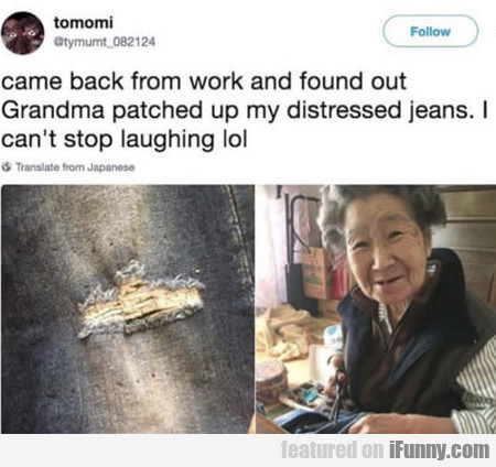 Came Back From Work And Found Out Grandma