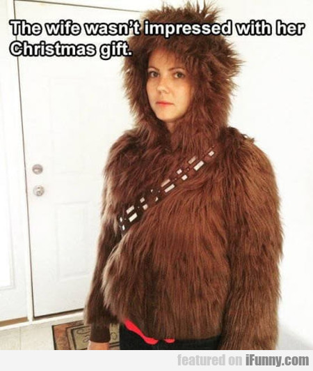 This Wife Wasn't Impressed With Her Christmas Gift