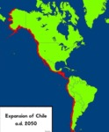 Expansion Of Chile A.d. 2050
