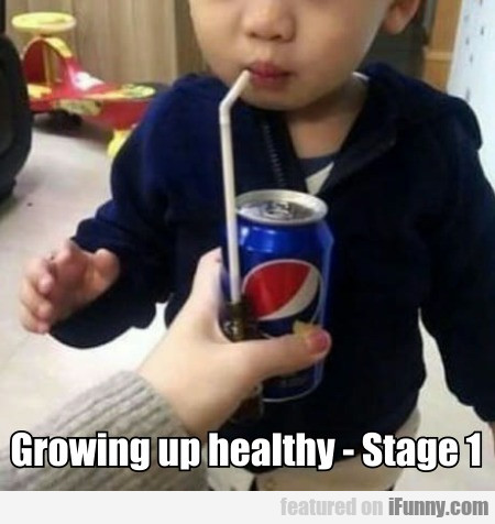 Growing Up Healthy - Stage 1