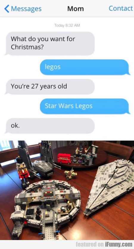What Do You Want For Christmas? - Legos
