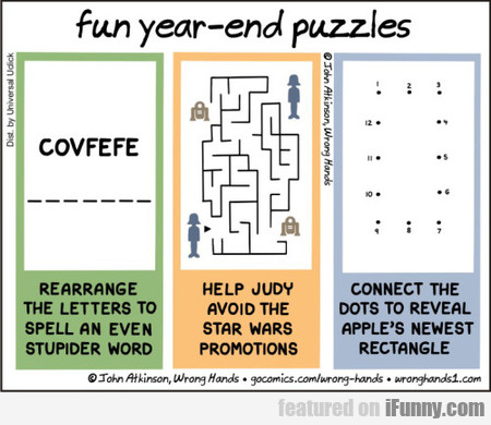 fun year-end puzzles