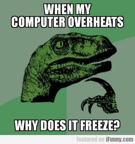 When My Computer Overheats Why Does It Freeze?