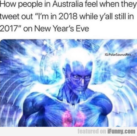 How People In Australia Feel When They Tweet Out..