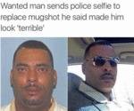 Wanted Man Sends Police Selfie To Replace...