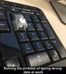 Solving The Problem Of Typing Wrong Date At Work