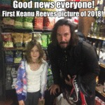 Good News Everyone! First Keanu Reeves Picture...