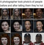 A Photographer Took Photo's Of People Before And..