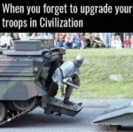 When You Forget To Upgrade Your Troops In...