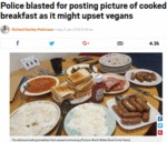 Police Blasted For Posting Picture Of Cooked...