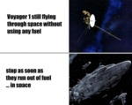 Voyager 1 Still Flying Through Space Without...