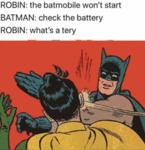 Robin: The Batmobile Won't Start - Batman...