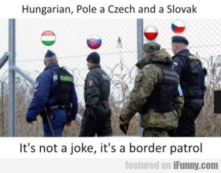 Hungarian, Pole A Czech And A Slovak - It's Not...